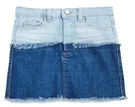 Blank NYC BLANKNYC Girls' Color-Block Denim Skirt - Big Kid