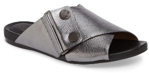 Women's Calvin Klein Pamice Cross Strap Sandal $118.95 thestylecure.com
