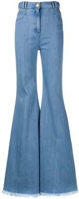 Balmain wide leg trousers