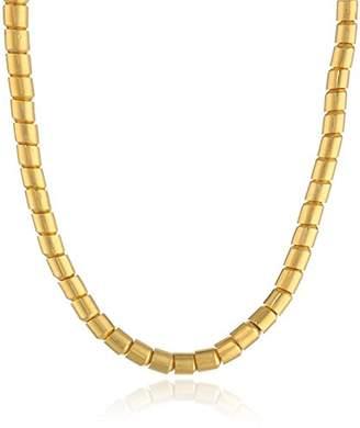 """Gurhan Vertigo"""" High Karat Thick Tube Necklace"""