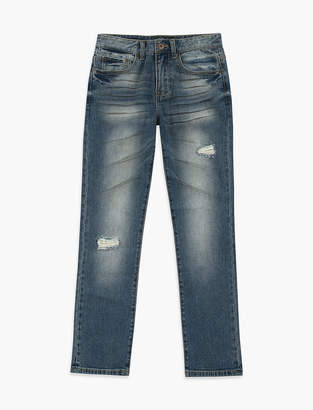 Lucky Brand TUXEDO RIP AND REPAIR JEAN