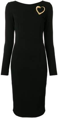 Class Roberto Cavalli fitted midi dress