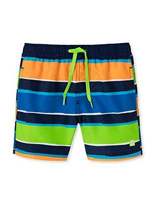 Schiesser Boy's Aqua Swimshorts Swim Shorts (Size: 0)