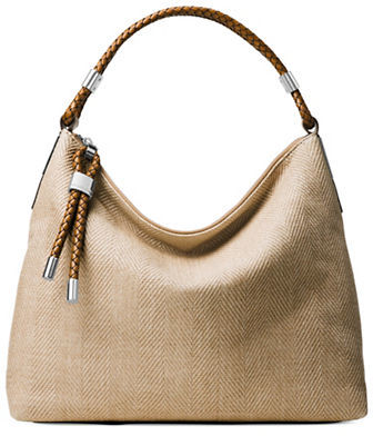MICHAEL Michael Kors Michael Kors Collection Skorpios Woven Hobo Bag