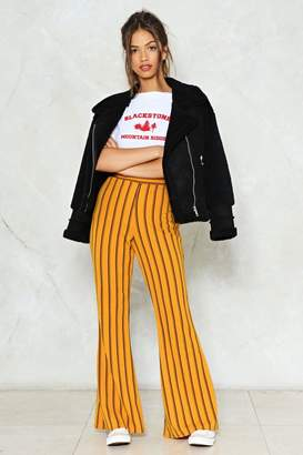 Nasty Gal Reverting to Stripe Flare Pants