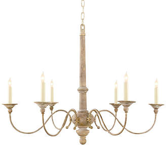 Visual Comfort & Co. Country Small Chandelier - Belgian White