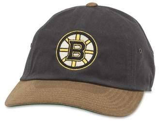 American Needle Waxed Taylor Boston Bruins Baseball Cap