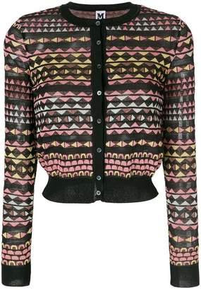 M Missoni patterned cardigan