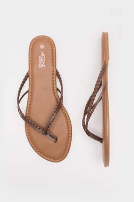232ef236f438 Brown Leather Flip Flops - ShopStyle Canada