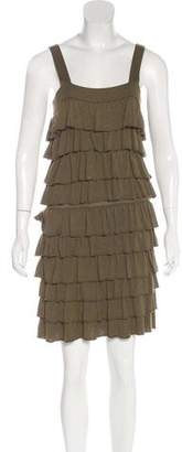 Alice + Olivia Tiered Ruffled Dress