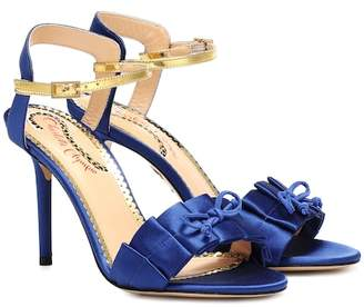 Charlotte Olympia Satin sandals