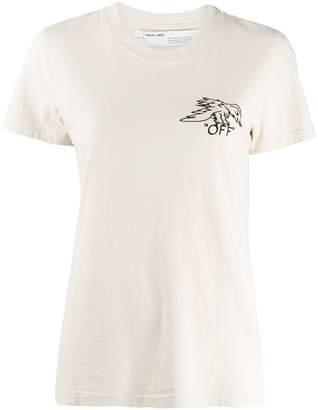 Off-White animal portrait T-shirt