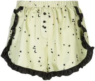 Morgan Lane Esti star print pyjama shorts