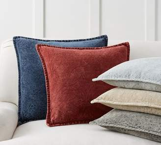 Pottery Barn Chenille Jacquard Pillow Covers