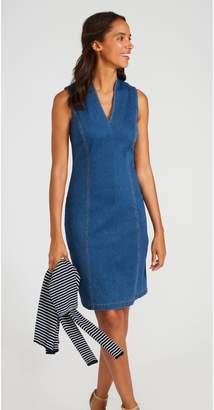 J.Mclaughlin Ivana Sleeveless Dress in Knit Denim