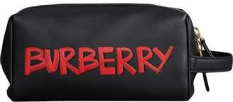 Burberry Graffiti zipped pouch