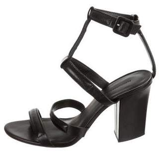 Alexander Wang Leather Cage Sandals
