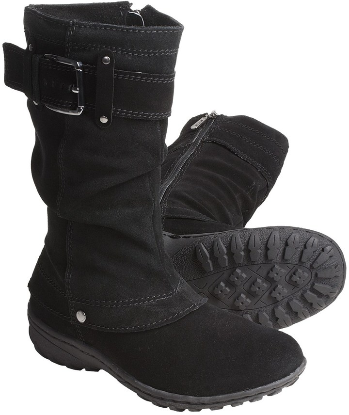 Khombu Igloo Winter Boots - Suede (For Women)