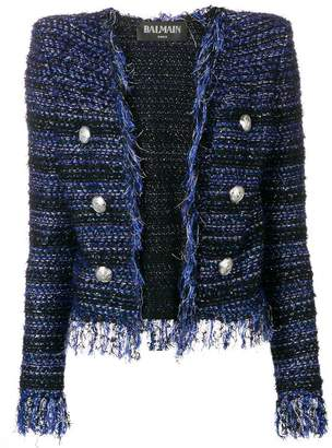 Balmain lurex tweed jacket