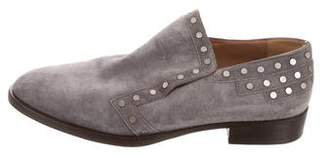 Laurence Dacade Suede Studded Loafers