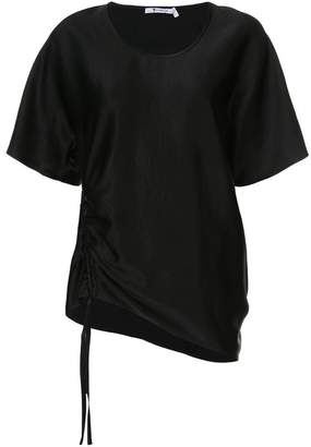 Alexander Wang draped short sleeved top