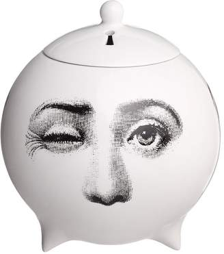 Fornasetti Tre Visi Incense Sphere With Lid