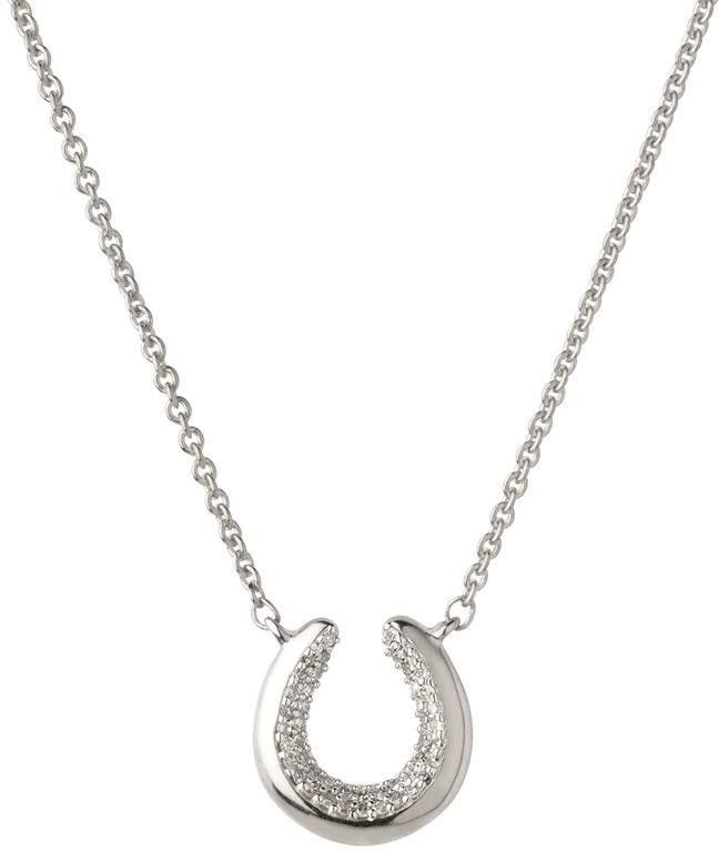 Ascot Horseshoe Necklace