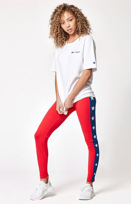 Champion Star Leggings $40 thestylecure.com