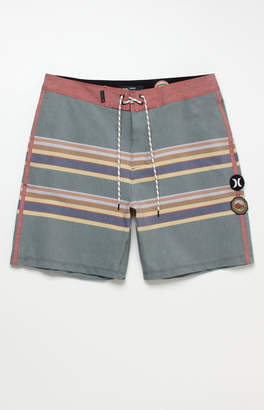 "Hurley x Pendleton Stripe Badlands 18"" Boardshorts"