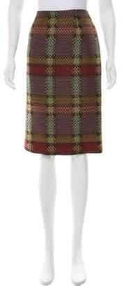 Bill Blass Wool-Blend Skirt