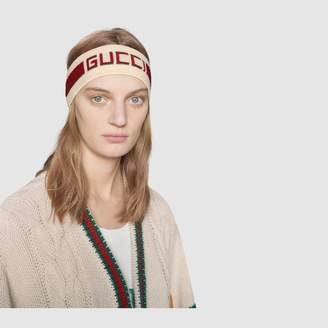 Gucci Elastic stripe headband