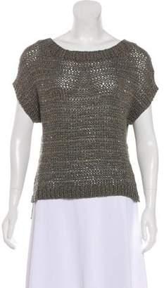 Halston Sleeveless Knit Top
