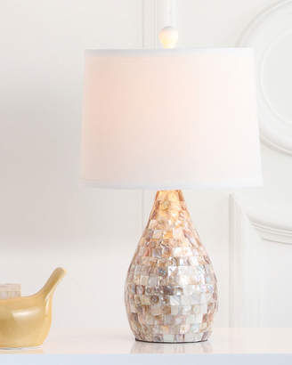 Safavieh Lauralie Capiz Shell Table Lamps, Set of 2