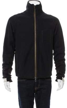 Rogan Zip-Front Lined Sweatshirt