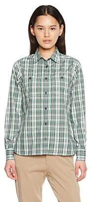 Marmot (マーモット) - (マーモット) Marmot W's QD Check L/S Shirt MJS-S7541W GRN S
