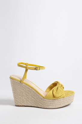 Forever 21 Bow Espadrille Wedges