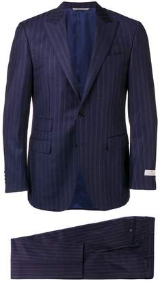 Canali striped two-piece suit