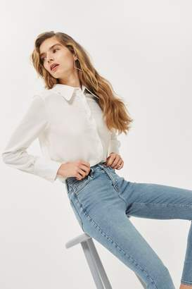 Topshop Winter Bleach Jamie Jeans