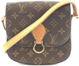 Louis Vuitton Saint-Cloud Shoulder Messenger Saint St Cloud Style Long Monogram Coated Canvas Cross Body Bag