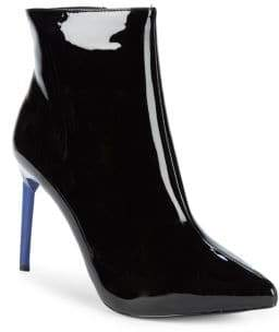 BCBGeneration Helen Faux Patent Leather Stiletto Ankle Boots