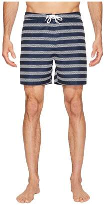Original Penguin Stretch Horizontal Stripe Men's Swimwear