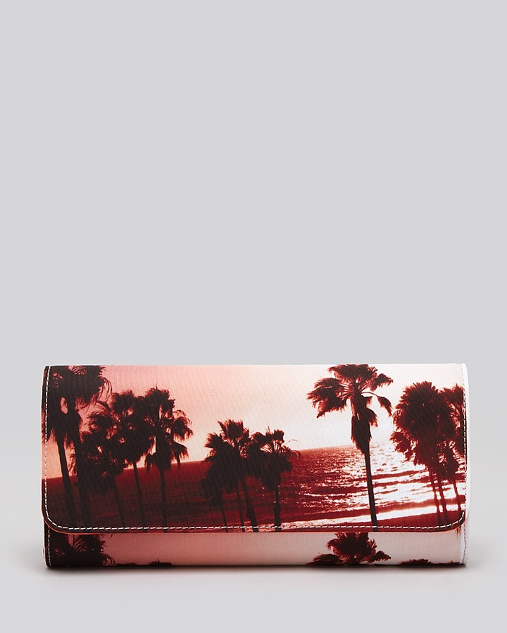 Juicy Couture Clutch - Palm Tree Print