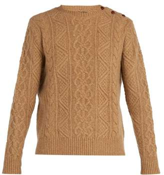 Polo Ralph Lauren - Cable Knit Merino Wool Sweater - Mens - Camel