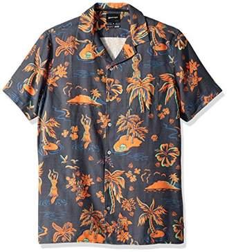 Quiksilver Men's Button Down Shirt