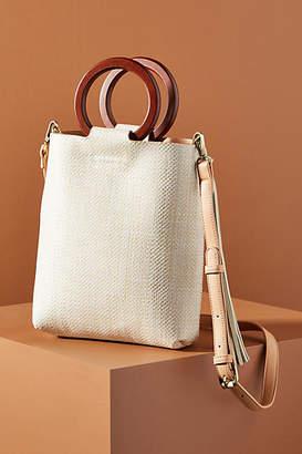Anthropologie Fiona Ring Handle Crossbody Bag
