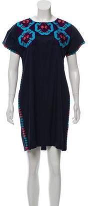 Figue Embroidered Mini Dress