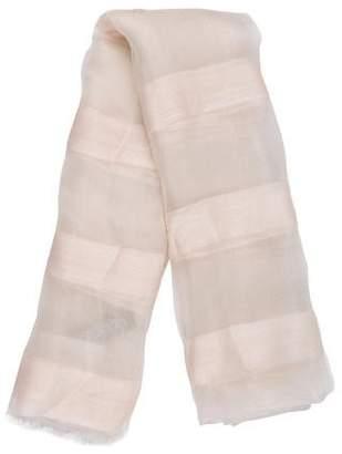 Max & Co. MAX&Co. Wool & Silk Stripe Scarf