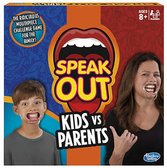 Hasbro Gaming Speak Out Kids vs Parents Game from Gaming