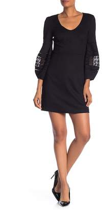 Trina Turk Gianna Blouson Sleeve Dress
