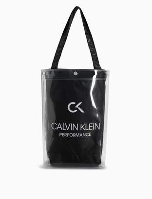 Calvin Klein nylon small tote bag
